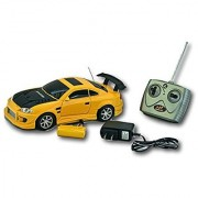 RACERS Colour Light Yellow High Speed Full Function Radio Control 1:18 Scale Deluxe Edition