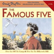 Five Go off to Camp & Five Go to Billycock Hill by Enid Blyton