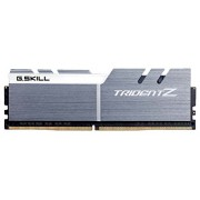 GSkill F4-3200C16D-32GTZSW Memoria RAM da 16 GB, DDR4, 3200 MHz, CL16, Kit 2 Pezzi, Nero