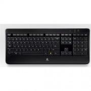 Klávesnica Logitech Wireless Illuminated Keyboard K800, US layout