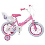 Bicicleta Toimsa Minnie Mouse Club House 14` fete