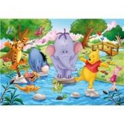 Clementoni 24668.7 - Puzzle Winnie The Pooh 2 x 20 piezas