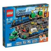 Конструктор Лего Сити - Товарен влак, LEGO City, 60052