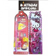 Birthday Party Return Gifts -Pack of 24 Mix Stationery Kit Set for Kids - Assorted Colours