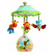 New brand Tiny Love Magical Night Projector Crib Soother Musical Mobile Owl Forest