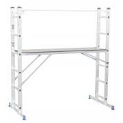 Aluminium létra többfunkciós állvány, Handrail 1,96 x 1,59m