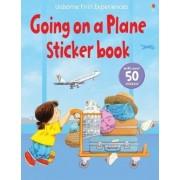 Usborne First Experiences Going on a Plane Sticker Book by Anne Civardi