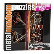 Gigamic - PPME - Puzzle - Set de 4 Métal Puzzles - Extrême