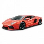 Lamborghini Aventador LP 700-4 - portocaliu - Kit de asamblare - 1:18