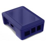 Boitier Raspberry B+ / 2B couleur bleu - Cyntech
