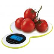 Digitálna bielo-zelená kuchynská váha GP-KS045G