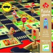 Puzzle gigant Djeco Orașul