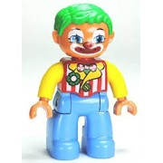 LEGO Duplo Minifigure - Clown - (10504)