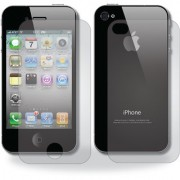 Shree Retail Screen Protector Clear Scratch Guard Both Front And Back For Apple Iphone 4 4G 4s ( Pack Of 2)
