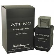Salvatore Ferragamo Attimo Black Musk Eau De Toilette Spray 3.4 oz / 100.55 mL Men's Fragrances 536869