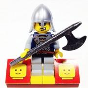 "Minifigure Packs: Lego Castle Fantasy Era Bundle ""(1) Royal Crown Guard"" ""(1) Figure Display Base"" ""(1) Figure Accessory"""