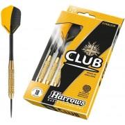 Harrows Club Brass fém hegyes darts készlet STEELTIP