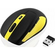 Mouse Wireless I-Box Bee2 Pro Negru-Galben