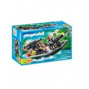 Playmobil 4845 Treasure Hunters with Speedboat by Playmobil (English Manual)