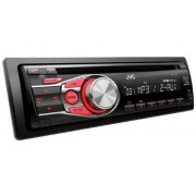 JVC KD-R331E Radio CD para coche (200 W, Bluetooth, doble AUX-IN), color negro