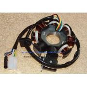 Platou magnetou opt bobine