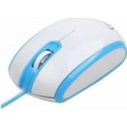 Mouse optic Gembird MUS-105-B USB Alb-Albastru