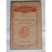 Chefs D'oeuvre Poetiques