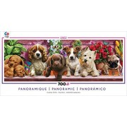 Ceaco Long Shots - Panoramic - Puppy Love Puzzle by Ceaco