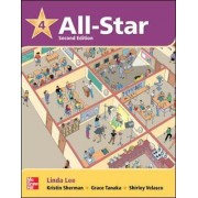 All Star 4 Student Book by Linda Lee
