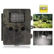 Caméra détecteur de mouvement / 12 MegaPixels / Ecran de 2.5