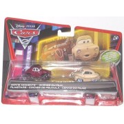 Disney Pixar Cars 2 Movie Moments Die-Cast Uncle Topolino and Mama Topolino 2-Pack 1:55 Scale by Mattel