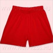 Pamut short - piros