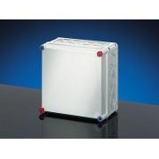 Üres szekrény teli fedéllel A1-es plombálható 300x300x170 (MI-70201)