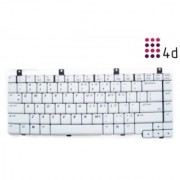 4d - Replacement Laptop Keyboard for HP-M2000/v2000-White