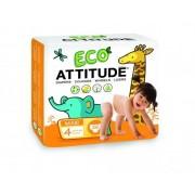 Scutece ecologice marime 4 (9-14 kg) 26 buc Attitude