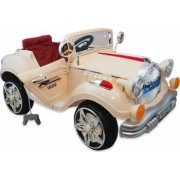Masina electrica Retro Baby Mix KB20981 Beige