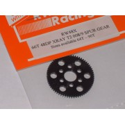 RW 66 tooth 48 DP Xray T4, T3 offset Supa-lite Spur Gear