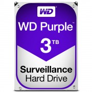 Western Digital WD Purple, 3.5', 3TB, SATA/600, 64MB cache