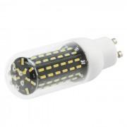 HONSCO GU10 8W 96-4014 SMD LED de luz caliente de maiz blanco del bulbo (110V AC)