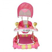 BayBee Shoppee Baby Land Walker (with Music and light) Pink White 2900570