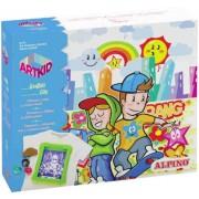 Cutie cu articole creative pentru copii, ALPINO ArtKid Graffiti City