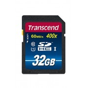 Transcend 32 GB High Speed 10 UHS Pen Memory Card 45MB/s, 300x - (TS32GSDU1)