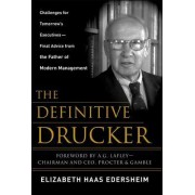 The Definitive Drucker by Elizabeth Haas Edersheim