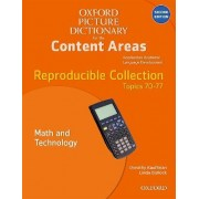 Oxford Picture Dictionary for the Content Areas: Reproducible Math and Technology by Dorothy Kauffman Ph.D.