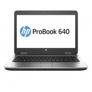 HP ProBook 640 i5-6200U 14.0 4GB/1T PC Core i5-6200U, 14.0 HD AG LED SVA, UMA, 4GB DDR4 RAM, 1.0TB HDD, DVD+/-RW, BT, 3C Battery, FPR, Win 10 PRO 64 DG Win 7 64, 1yr Warranty
