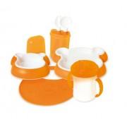 dBb-Remond 212007 Child's Tableware Set Bear Design Orange
