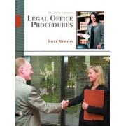 Legal Office Procedures by Joyce Morton