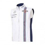 Williams F1 Team Bezrękawnik damski Team White Williams Martini Racing 2016