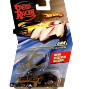 Speed Racer 1:64 Die Cast Hot Wheels Car GRX with Spear Hooks by Hot Wheels