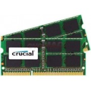 Memorie Laptop Crucial SO-DIMM DDR3, 2x4GB, 1333MHz, CL9, pentru Mac